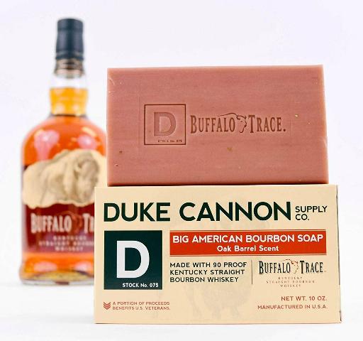 DUKE CANNON BIG AMERICAN BOURBON SOAP, 10OZ. OAK BARREL SCENT