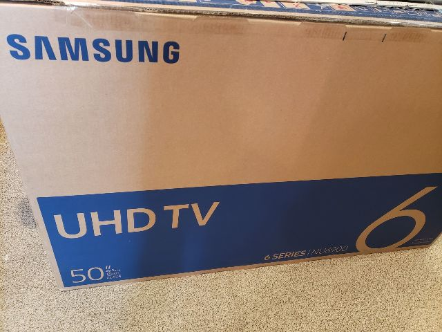 "SAMSUNG UHDTV 50"" 6 SERIES NU6900 UN50NU6900F 4K SMART LED TV"