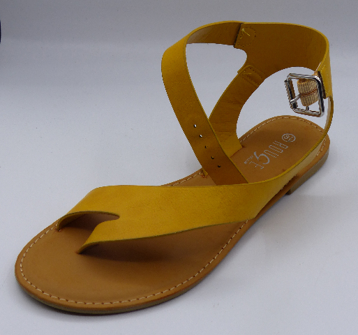 ROGUE THRIVE-40 UNI MARIGOLD BNH US WOMEN 8.5 ANKLE WRAP SANDALS
