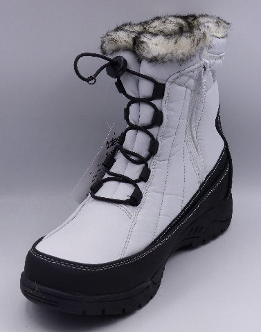 TOTES EVE WHITE US WOMEN 9M SNOW BOOTS