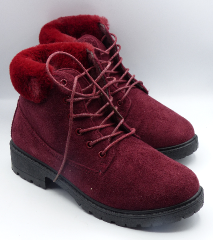 REBEL LV-19-1004 RED US WOMEN 6.5 ANKLE BOOTS