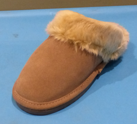 ZEALAND DIANA TAUPE US WOMEN 8 SLIDE ON SLIPPERS