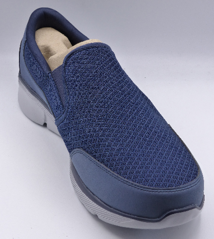 SKECHERS EQUALIZER 3.0 BLUEGATE NAVY US MENS 10.5 EXTRA WIDE EU 44 SNEAKERS