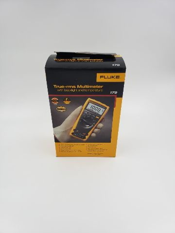 FLUKE TRUE RMS MULTIMETER WITH BACKLIGHT AND TEMPERATURE 179 BRAND NEW