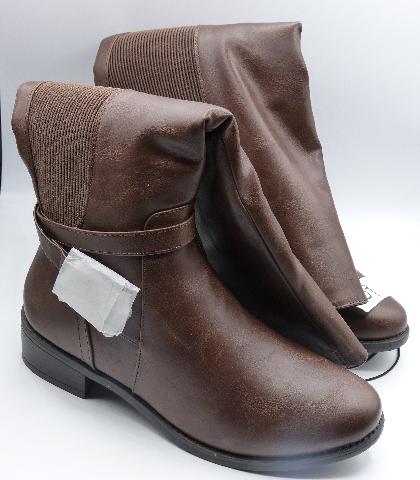 STREETWEAR SOCIETY BROWN US WOMEN 7 RIDING BOOTS