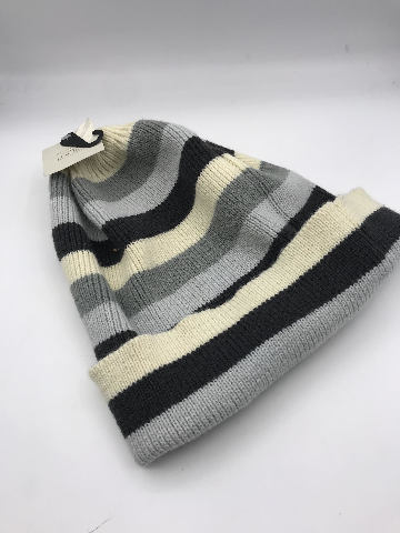 NORDSTROM 14TH AND UNION BLUE STRIPED STOCKING BEANIE