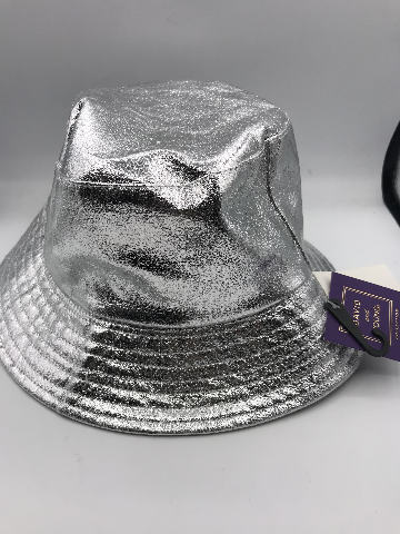NORDSTROM DAVID AND YOUNG SILVER BUCKET HAT