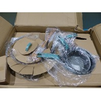 PIONEER WOMAN 116099.24R 24 PIECE TURQUOISE VINTAGE SPECKLE COOKWARE COMBO SET