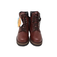 GOLDEN RETIEVER 3901 WATERPROOF MENS WORK BOOTS BROWN OIL TAN SIZE 10