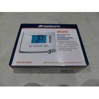 BRAEBURN 3020 NON-PROGRAMMABLE 1H/1C THERMOSTAT WITH 3IN DISPLAY