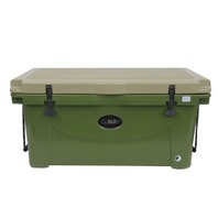 GUIDE GEAR WX2-704467 90 QT. TAN/GREEN COOLER