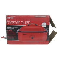 NESCO 4818-12 18 QT. RED ROASTER OVEN
