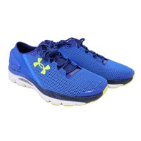 UA SPEEDFORM GEMINI 2.1 1288353-907 MENS ULTRA BLUE/WHITE RUNNING SHOES SZ 10.5