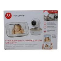 MOTOROLA MBP855CONNECT.V2 5IN WIFI DIGITAL VIDEO BABY MONITOR