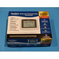 APRILAIRE 8800 TOUCHSCREEN THERMOSTAT PROGRAMMABLE HVAC CONTROL