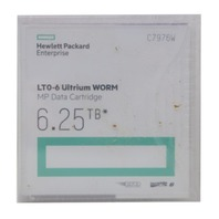 QTY 5 HPE LTO-6 ULTRIUM WORM MP C7976W 6.25TB DATA CARTRIDGES