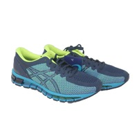 ASICS GEL-QUANTUM 360 CM 1021A134-402 MENS PEACOAT/SAFETY YELLOW RUNNING SHOES SIZE 8.5
