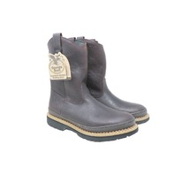 GEORGIA BOOT G4274 MENS GIANT PULL-ON 9IN WELLINGTON WORK BOOTS SZ 11.5W