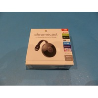 GOOGLE CHROMECAST GA3A-00093-A14-Z01 MEDIA STREAMING DEVICE