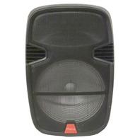 RIDGEWAY QS-3715BR DJ KARAOKE PORTABLE SPEAKE W/TROLLEY