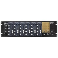 TASCAM MZ-372 7-CHANNEL 19-INPUT RACKMOUNT ZONE MIXER WITH 6 FADERS
