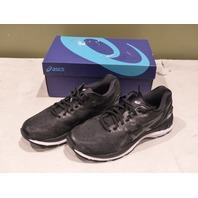 ASICS GEL-NIMBUS 20 T800N-9001 MENS BLACK/WHITE/CARBON RUNNING SHOES SIZE 8