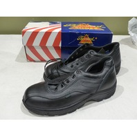 THOROGOOD SOFTSTREETS DOUBLE TRACK 834-6908 BLACK OXFORD SHOES SIZE 10.5W