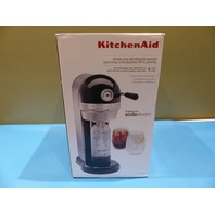 KITCHENAID KSS1121OB SPARKLING BEVERAGE MAKER OYNX BLACK