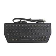 IKEY SLK-77-M BACKLIT USB MOBILE KEYBOARD BLACK