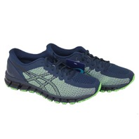 ASICS 360 CM 1021A134-402 MENS PEACOAT/SAFETY YELLOW RUNNING SHOES SIZE 11