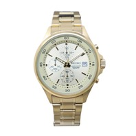 SEIKO SKS482 MENS GOLD-TONE CHRONOGRAPH WATCH