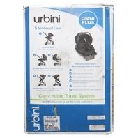 URBINI OMNI PLUS 10EA1Y-BLKU 3 IN 1 BLACK TRAVEL SYSTEM