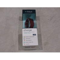 FITBIT CHARGE WIRELESS BAND BURGUNDY LARGE