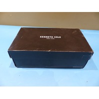 KENNETH COLE GOT A CLUE KMF6014 001 MENS BLACK SLIP-ON LOAFERS SZ 12