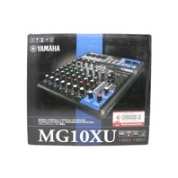 YAMAHA MG10XU 10-INPUT MIXER WITH BUILT-IN FX AND 2-IN/2-OUT