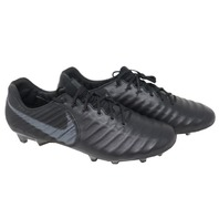 NIKE LEGEND 7 ELITE FG (AH7238 001) BLACK CLEATS SZ 12.5 MENS/14 WOMENS