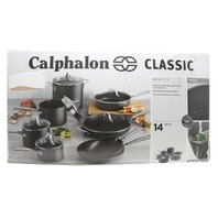 CALPHALON CLASSIC 1943336 NONSTICK 14-PC. COOKWARE SET