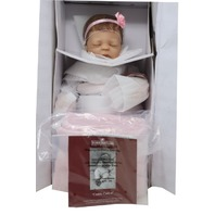 ASHTON DRAKE 30-225-0001 CUDDLE CAITLYN NEWBORN BABY DOLL