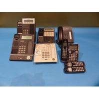 6* VARIOUS PANASONIC BUSINESS PHONES