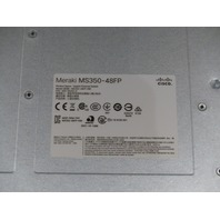 CISCO MERAKI MS350-48FP-HW CLOUD MANAGED SWITCH