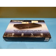 TRENDNET 26-PORT GIGABIT 400 WATT POE+ AV SWITCH