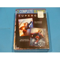SUPERGIRL THE COMPLETE FIRST AND SECOND SEASON SEASONS 1&2 DVD NEW