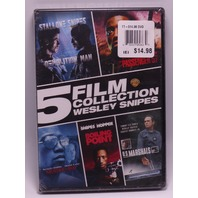 5 FILM COLLECTION WESLEY SNIPES DVD NEW SEALED