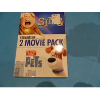 UNIVERSAL PICTURES HOME ILLUMINATION PRESENTS: 2-MOVIE PACK SING/THE SECRET LIFE