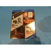 4 FILM FAVORITES: CLINT EASTWOOD ACTION BLU-RAY NEW
