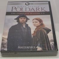 POLDARK SEASONS ONE-THREE THE COMPLETE SEASONS 1-3 DVD NEW SEALED