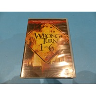WRONG TURN 1-6 - DVD NEW SEALED
