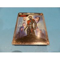 ANT-MAN LIMITED EDITION STEELBOOK DIGITAL + 4K ULTRA HD + BLU-RAY NEW SEALED