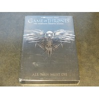 GAME OF THRONES SEASON 4 DVD NEW SEALED
