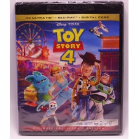 TOY STORY 4 W/ OUT SLIP COVER 4K ULTRA HD + BLU-RAY + DIGITAL NEW SEALED